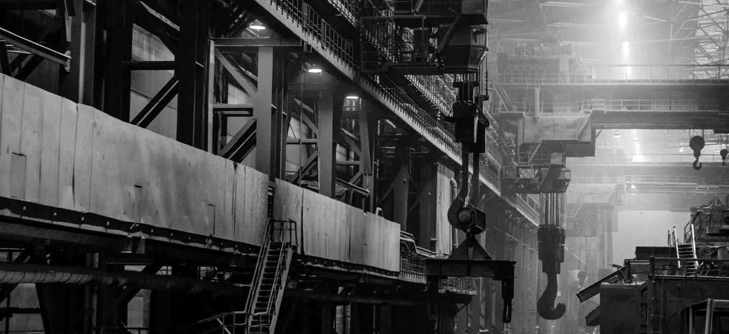 Header industrie noir-blanc
