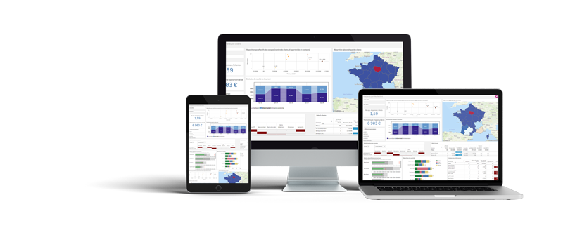 Interfaces de la solution Qlik responsive