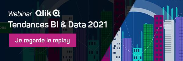 Replay du webinar Qlik sur les tendances BI 2021
