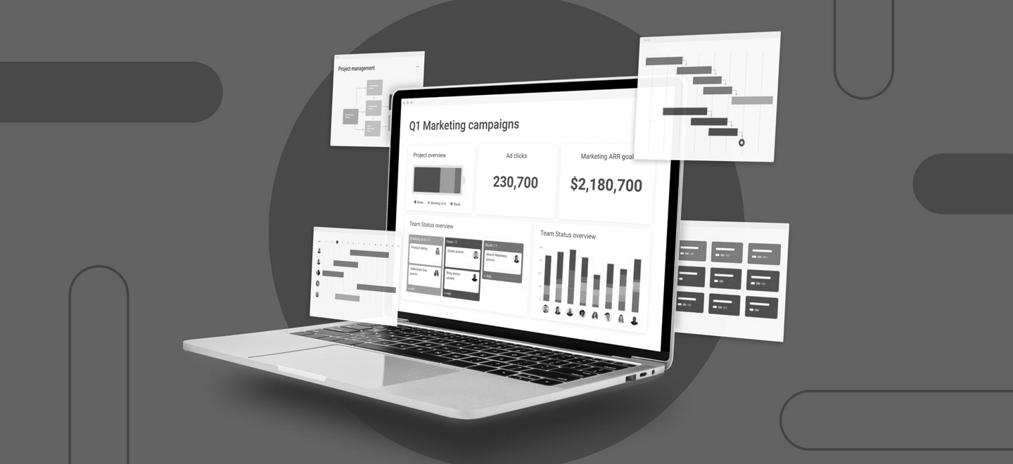 Interfaces monday.com analyse et progression