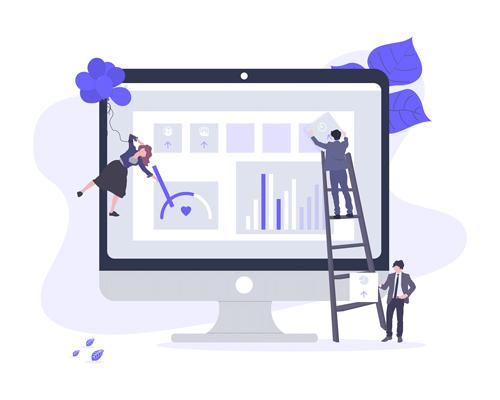 Illustration vision globale grâce aux boards